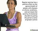 Benefit of regular exercise